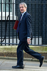 © Licensed to London News Pictures. 05/03/2013. Westminster, UK. Environment Secretary.Owen Paterson. Ministers arrive for a Cabinet Meeting at number 10 Downing Street on 5th March 2013. Photo credit : Stephen Simpson/LNP