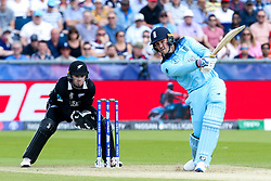 Jason Roy of England bats - Mandatory by-line: Robbie Stephenson/JMP - 03/07/2019 - CRICKET - Emirates Riverside - Chester-le-Street, England - England v New Zealand - ICC Cricket World Cup 2019 - Group Stage