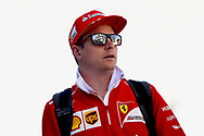 Kimi Raikkonen of Scuderia Ferrari before coming third in the Russian Formula One Grand Prix at Sochi Autodrom, Sochi, Russia.<br /> Picture by EXPA Pictures/Focus Images Ltd 07814482222<br /> 30/04/2017<br /> *** UK &amp; IRELAND ONLY ***<br /> <br /> EXPA-EIB-170430-0247.jpg