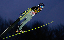 Kamil Stoch (POL) competes during First round of the FIS Ski Jumping World Cup event of the 58th Four Hills ski jumping tournament, on January 6, 2010 in Bischofshofen, Austria. (Photo by Vid Ponikvar / Sportida)
