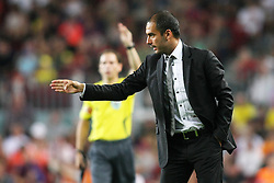 FC Barcelona's Pep Guardiola during the Supercup of Spain.August 23 2009.