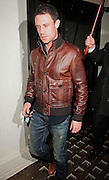 17.JANUARY.2011. LONDON<br /> <br /> FOOTBALLER WAYNE BRIDGE AND NEW GIRLFRIEND FRANKIE SANDFORD WERE JOINED BY FAMILY MEMBERS FOR A NIGHT OUT AT THE NEW HAKKASAN BAR AND RESTAURANT IN MAYFAIR.<br /> <br /> BYLINE: EDBIMAGEARCHIVE.COM<br /> <br /> *THIS IMAGE IS STRICTLY FOR UK NEWSPAPERS AND MAGAZINES ONLY*<br /> *FOR WORLD WIDE SALES AND WEB USE PLEASE CONTACT EDBIMAGEARCHIVE - 0208 954 5968*