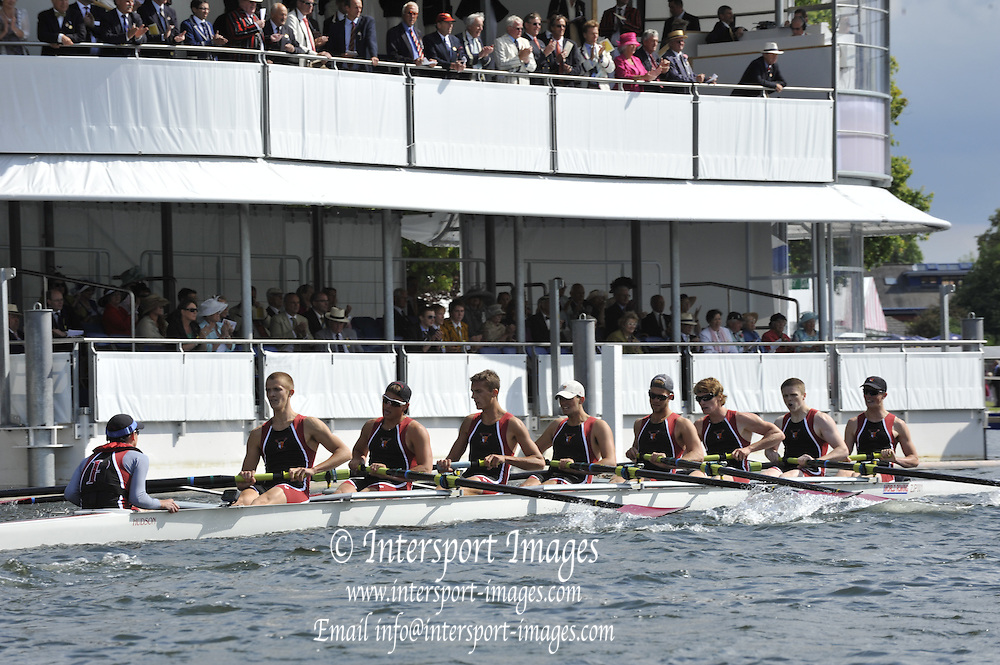 Henley, Great Britain. TThe Princess Elizabeth Challenge Cup, St. Joseph's Preparatory School.   Henley Royal Regatta. River Thames Henley Reach.  Thursday   30/06/2011  [Mandatory Credit Peter Spurrie r/ Intersport Images] 2011 Henley Royal Regatta. HOT. Great Britain . HRR