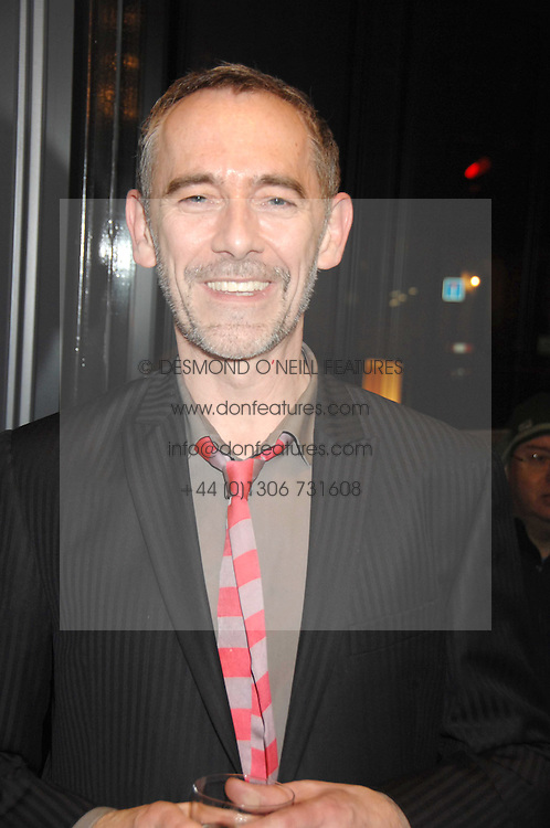 Hairdresser PAUL EDMONDS at the opening party of hairdresser Paul Edmond's new salon at 217 Brompton Road, London SW3 on 18th March 2008.<br />
