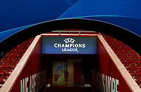 Football - 2019 / 2020 UEFA Champions League - Group E: Liverpool vs. Napoli<br /> <br /> General view of the stadium before tonight's game, at Anfield.<br /> <br /> COLORSPORT/ALAN MARTIN