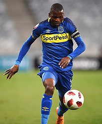 Cape Town-180804 Cape Town city defender Thami Mkhizein a game against  Supersport iat Cape Town Stadium.photograph:Phando Jikelo/African News Agency/ANAr