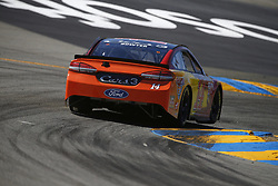 June 23, 2017 - Sonoma, CA, United States of America - June 23, 2017 - Sonoma, CA, USA: Clint Bowyer (14) takes to the track to practice for the Toyota/Save Mart 350 at Sonoma Raceway in Sonoma, CA. (Credit Image: © Justin R. Noe Asp Inc/ASP via ZUMA Wire)
