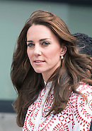 Kate Middleton & Prince William Visit Immigration Centre