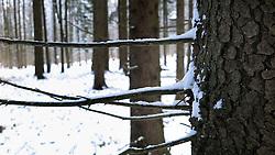CZECH REPUBLIC VYSOCINA NEDVEZI 4JAN15 - Snowy winter landscape near the village of Nedvezi, Vysocina, Czech Republic.<br /> <br /> jre/Photo by Jiri Rezac<br /> <br /> © Jiri Rezac 2015