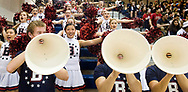 February 13, 2014 - Beckman cheerleaders cheer for their team during their game against Woodbridge High School.