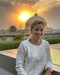 """Angelique Kerber releases a photo on Instagram with the following caption: """"Dubai \u2728My curiosity drives me to explore more and more of the cities that I compete in... @ddftennis coming up next week \ud83d\ude4c\ud83c\udffb #Dubai\ud83d\ude0d"""". Photo Credit: Instagram *** No USA Distribution *** For Editorial Use Only *** Not to be Published in Books or Photo Books ***  Please note: Fees charged by the agency are for the agency's services only, and do not, nor are they intended to, convey to the user any ownership of Copyright or License in the material. The agency does not claim any ownership including but not limited to Copyright or License in the attached material. By publishing this material you expressly agree to indemnify and to hold the agency and its directors, shareholders and employees harmless from any loss, claims, damages, demands, expenses (including legal fees), or any causes of action or allegation against the agency arising out of or connected in any way with publication of the material."""
