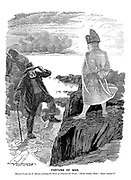 """Fortune of War. General Cronje (at St Helena, saluting the shade of Napoleon the Great). """"Same enemy, Sire! Same result!"""""""
