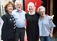 18/07/2017 Repro Free:     Maureen and Tom Kenny with Marie Mullen and Garry Hynes  at the opening night of Crestfall by Mark Rowe directed by Annabelle Comyn at the Mick Lally Theatre, Druid Lane Galway  during the 40th Galway International Arts Festival. Photo:Andrew Downes, xposure .