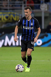 October 21, 2018 - Milan, Milan, Italy - Ivan Perisic #44 of FC Internazionale Milano in action during the serie A match between FC Internazionale and AC Milan at Stadio Giuseppe Meazza on October 21, 2018 in Milan, Italy. (Credit Image: © Giuseppe Cottini/NurPhoto via ZUMA Press)