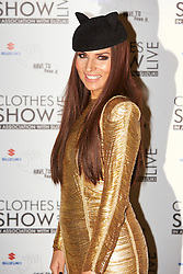 © Licensed to London News Pictures.  07/12/2012. BIRMINGHAM, UK. Stylist Grace Woodward (pictured) is seen during the opening photo call for the Clothes Show Live event being held in the NEC, Birmingham. The show opens today and runs until Tuesday. Photo credit :  Cliff Hide/LNP