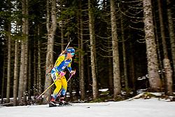 Anna Magnusson (SWE) during Women 15km Individual at day 5 of IBU Biathlon World Cup 2018/19 Pokljuka, on December 6, 2018 in Rudno polje, Pokljuka, Pokljuka, Slovenia. Photo by Ziga Zupan / Sportida