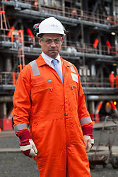 Calum MacLean, Chairman INEOS O&P at the INEOS Grangemouth plant as part of an INEOS Media Trip.