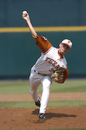 Texas starting pitcher Kyle McCulloch pitched 6 2/3rd innings, giving up two runs and got the win for the Longhorns.  Texas defeated Florida 6-2 for the National Championship at the College World Series at Rosenblatt Stadium in Omaha, Nebraska on June 26, 2005.