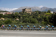Illustration peloton, Scenery, during the UCI World Tour, Tour of Spain (Vuelta) 2018, Stage 9, Talavera de la Reina - La Covatilla 200,8 km in Spain, on September 3rd, 2018 - Photo Luis Angel Gomez / BettiniPhoto / ProSportsImages / DPPI