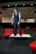 "Los Angeles, California:  Blake Lewis (American Idol II, Season 6, runner up) at ""Reality Rocks: Los Angeles"" first reality show convention, 4/10/11 (Photo: Ann Summa)."