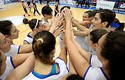 POMEZIA 18 MAGGIO 2014<br /> AMICHEVOLE NAZIONALE ITALIA FEMMINILE GRAN BRETAGNA <br /> NELLA FOTO team italia<br /> FOTO CIAMILLO