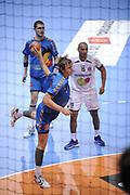 DESCRIZIONE : France Hand D1 Championnat de France D1 a Toulouse<br /> GIOCATORE :  Valentin PORTE <br /> SQUADRA : Toulouse<br /> EVENTO : FRANCE Hand D1<br /> GARA : Toulouse Paris<br /> DATA : 19/10/2011<br /> CATEGORIA : Hand D1 <br /> SPORT : Handball<br /> AUTORE : JF Molliere <br /> Galleria : France Hand 2011-2012 Action<br /> Fotonotizia : France Hand D1 Championnat de France D1 a Paris <br /> Predefinita :