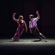 "Mark Morris Dance Group perfoms ""Jenn and Spencer"" at Libbey Bowl on June 7, 2013 in Ojai, California."