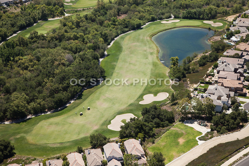Coto de Caza Aerial Stock Photo