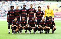 Photo: Maarten Straetemans.<br /> Arsenal v Lazio. LG Amsterdam Tournament. 02/08/2007.<br /> Team Arsenal