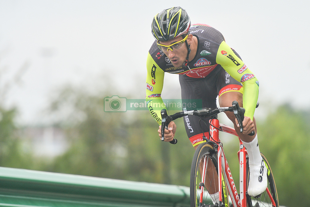 September 15, 2017 - Chenghu City, China - Liam Bertazzo from Wilier Triestina-Selle Italia team during the fourth stage of the 2017 Tour of China 1, the 3.3 km Chenghu Jintang individual time trial. .On Friday, 15 September 2017, in Jintang County, Chenghu City,  Sichuan Province, China. (Credit Image: © Artur Widak/NurPhoto via ZUMA Press)