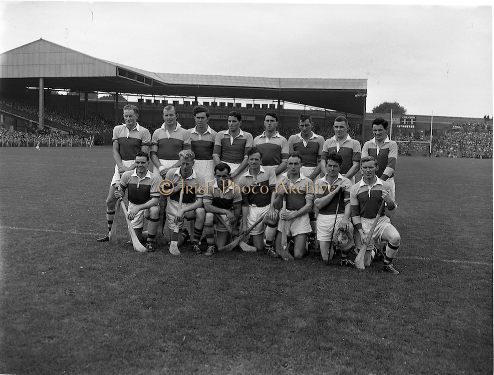 04/08/1957<br /> 08/04/1957<br /> 4 August 1957<br /> Leinster Final: Wexford v Kilkenny at Croke Park, Dublin. Wexford Team.