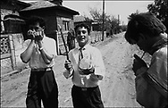 ROMANIAN ORTHODOX EASTER CELEBRATIONS. SINTESTI, ROMANIA, EASTER 1995..©JEREMY SUTTON-HIBBERT 2000..TEL./FAX. +44-141-649-2912..TEL. +44-7831-138817.