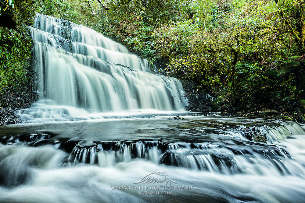 Purakanui Falls, Catlins, New Zealand