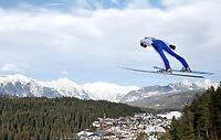 Kombinert -19. januar 2014 ,   NORDISCHE KOMBINATION, SKISPRINGEN - FIS Weltcup, Nordic Triple. Bild zeigt  Magnus Moan (NOR).<br /> Norway only
