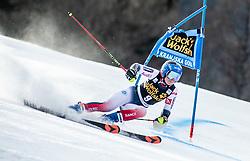 DIREZ Clara of France competes during the Ladies' GiantSlalom at 56th Golden Fox event at Audi FIS Ski World Cup 2019/20, on February 15, 2020 in Podkoren, Kranjska Gora, Slovenia. Photo by Matic Ritonja / Sportida