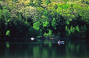 PA Landscapes, Lake Fishing, Little Buffalo State Park, Perry Co., PA
