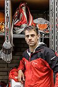 Innsbruck, rescue operation with the team, Valentin Schiessendoppler
