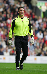 LIVERPOOL, ENGLAND - SUNDAY MARCH 27th 2005: Celebrity XI's Eric Nixon during the Tsunami Soccer Aid match at Anfield. (Pic by David Rawcliffe/Propaganda)