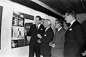 "1963 - Opening of ""Ulster Today"" architectural photographic exhibition"