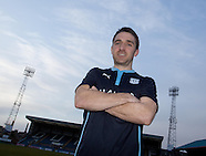 02-02-2015 Dundee new boy Paul Heffernan