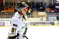 Ishockey , 23. Februar 2014, GET-Liga ,<br /> Lørenskog  - Stavanger Oilers<br /> Oilers Tommy Kristiansen gikk av isen etter en hard takling sent i andre periode<br /> Foto: Sjur Stølen , Digitalsport