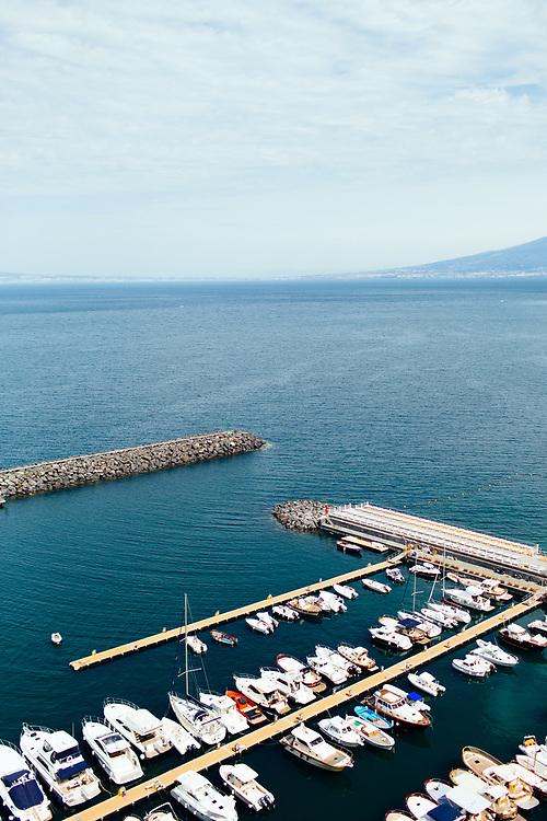 Overlooking coast in Piano di Sorrento