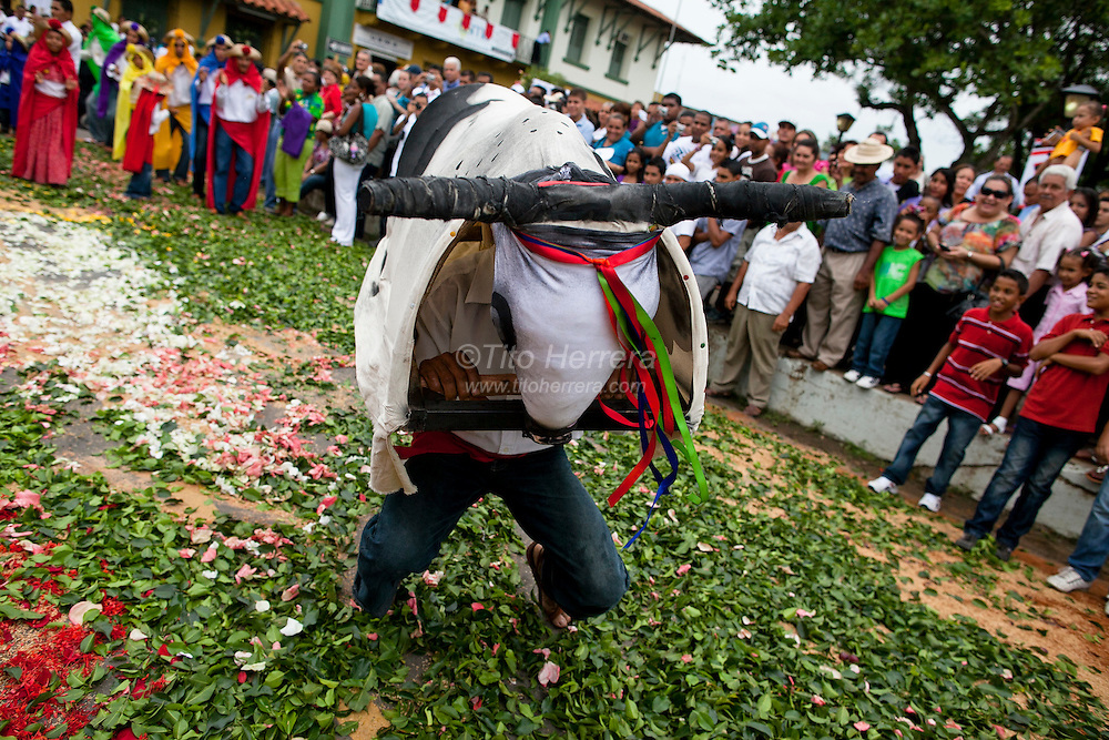 "photo: Tito Herrera Images of the celebration of the Catholic tradition called ""Corpus Christi"".  La Villa de Los Santos, Panama. Photo by: Tito Herrera"