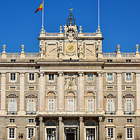 Royal Palace of Madrid in Madrid, Spain<br />