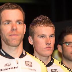 09-01-2015: Wielrennen: Perspresentatie Lotto Jumbo:: Rosmalen<br /> Mike Theunissen maakt zijn debuut in de worldtour
