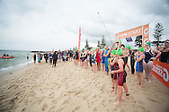 Super Sprint Gatorade Race 3. Elwood Beach. Brighton, Melbourne, Victoria, Australia. 13/01/2013. Photo By Lucas Wroe