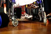 Wiesbaden | 30.10.2010..Vita Gala im Kurhaus Wiesbaden, hier: Ein kleines Maedchen im Rollstuhl, Beinschienen...©peter-juelich.com..[No Model Release | No Property Release]