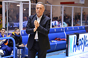 Bucchi Piero<br /> Happy Casa Brindisi - Virtus Roma<br /> Legabasket SerieA  2019-2020<br /> Brindisi 19/01/2020<br /> Foto: Ciamillo-Castoria / Michele Longo