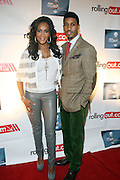 l to r: Fonzworth Bently and Vivica A. Fox and at The Men of Style Awards presented by Gillette Fusion and Rolling Out Urbanstyle Weekly held at the 40/40 Club on Novemeber 2, 2009 in New York City