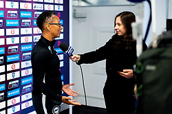 Sioned Dafydd interviews Brighton and Hove Albion Women manager Hope Powell after the final whistle of the match  - Mandatory by-line: Ryan Hiscott/JMP - 07/09/2019 - FOOTBALL - Ashton Gate - Bristol, England - Bristol City Women v Brighton and Hove Albion Women - FA Women's Super League